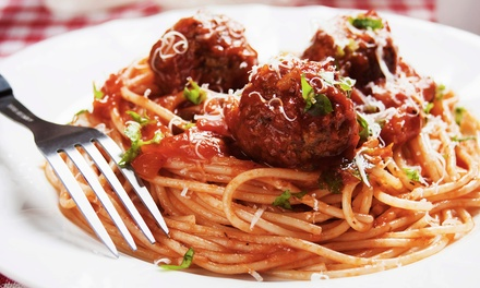 Italian Cuisine at De Luca's Italian Restaurant (Up to 45% Off). Two Options Available.