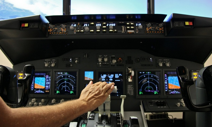 SimCenter Tampa Bay - Clearwater: Flight- or Racecar-Simulation Experience for One or Two (Up to 51%). Five Options Available.