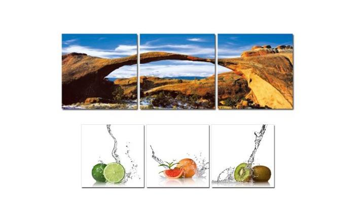 Artrika - West Edmonton Mall: In-Store or Custom Triptych Art from Artrika (50% Off)