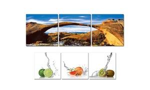 Artrika: In-Store or Custom Triptych Art from Artrika (58% Off)