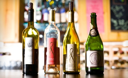 Wine Tasting and Take-Home Bottles for Two or Four at Harmony Wynelands Winery (Up to 52% Off)