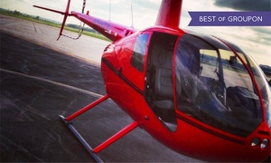 Timberview Helicopters: $155 for a Romantic Helicopter Tour at Timberview Helicopters ($337 Value)