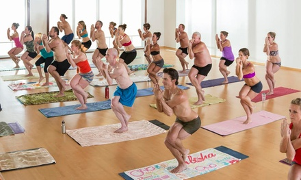 One or Three Months of Unlimited Classes at Bikram Yoga at Brick Canvas (Up to 74% Off)