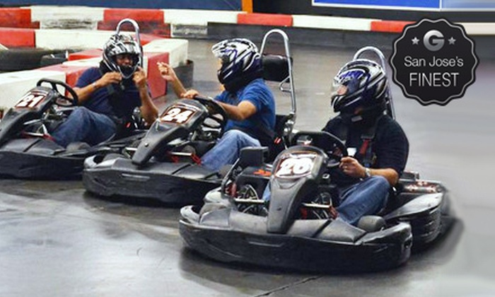 LeMans Karting - East Industrial: Time-Attack Go-Kart Run for One, Two, or Four at LeMans Karting (40% Off)