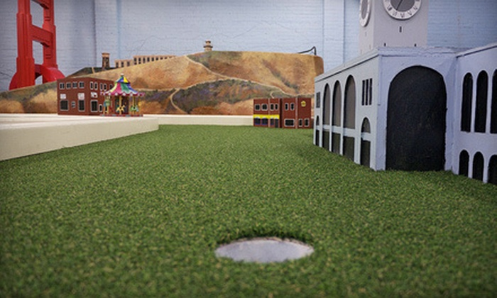 Subpar Miniature Golf - East End: Miniature Golf for Two, Four, or Six at Subpar Miniature Golf (Up to 56% Off)
