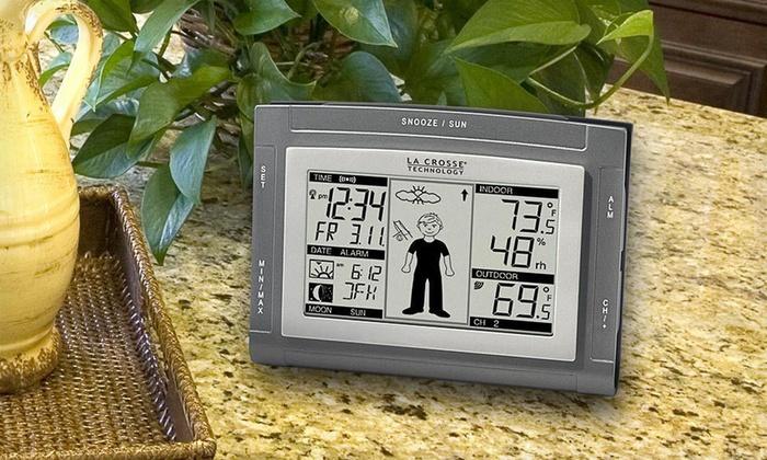 La Crosse Technology Weather Station: La Crosse Technology Weather Boy Wireless Forecast Station.