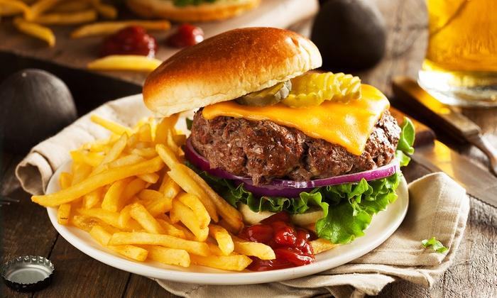 3 g nge burger men f r zwei schenkels restaurant groupon. Black Bedroom Furniture Sets. Home Design Ideas