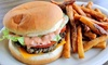 Flaco's Burgers & Tacos - Judson: Burger Combo for Two, Breakfast Plate for Two, or Taco Plate for Two at Flaco's Burgers & Tacos (Up to 53% Off)