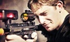 Battleground Orlando Laser Tag - Battleground Orlando Tactical Laser Tag: Two-Hour Laser-Tag Outing with a Slice of Pizza for One, Two, or Four at Battleground Orlando Laser Tag (Up to 62% Off)