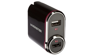Monster Two-in-One USB Charger with Car Adapter at Monster Two-in-One USB Charger with Car Adapter, plus 6.0% Cash Back from Ebates.