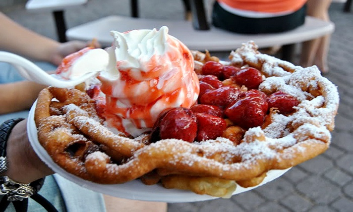 Funnel Cake Cafe & Lounge - Milliken: Funnel Cakes and Hookah at Funnel Cake Cafe & Lounge (Up to Half Off). Four Options Available.