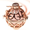 Rose Gold Plated Essential Oil Diffuser Necklace