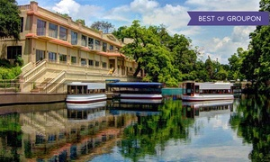 The Meadows Center: Glass-Bottomed-Boat Tour for Two, Four, or Six at The Meadows Center (Up to 44% Off)
