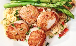 Chef Tony's: Prix-Fixe Seafood Dinner for Two or Four at Chef Tony's Restaurant (Up to 52% Off). Three Options Available.