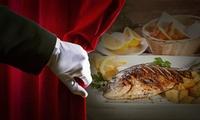 Fischmenü in 3 oder 4 Gängen im legendären Dunkelrestaurant unsicht-Bar Hamburg