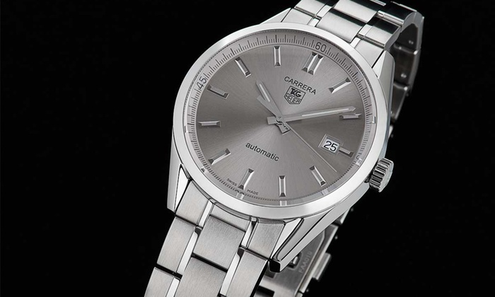 Tag Heuer : $2,199 for a Tag Heuer Carrera Automatic Men's Watch ($2,800 List Price). Free Shipping and Returns.