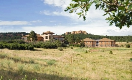 groupon daily deal - 1-Night Stay for Two or 2-Night Stay for Two with Dining Credit at The Inn at Palmer Divide in Palmer Lake, CO