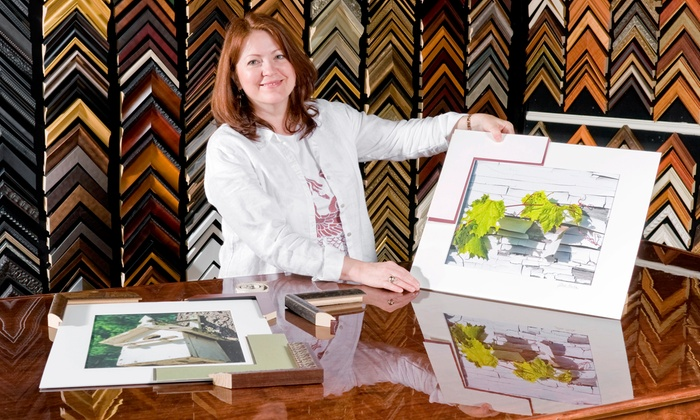 Art and Framing Warehouse - Boca Raton Hills: $39 for $120 Worth of Services at Art and Framing Warehouse