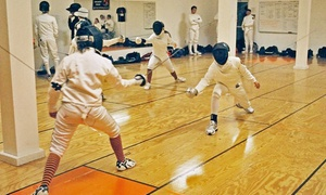Maryland Fencing Club: One Intro to Fencing Class or One Month of Fencing Classes at Maryland Fencing Club (Up to 51% Off)