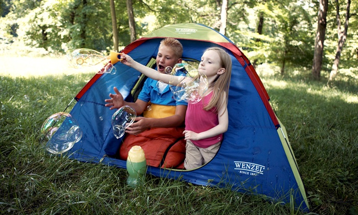Kids-Sized Camping Tent: Wenzel Sprout Camping Tent for Kids. Free Returns