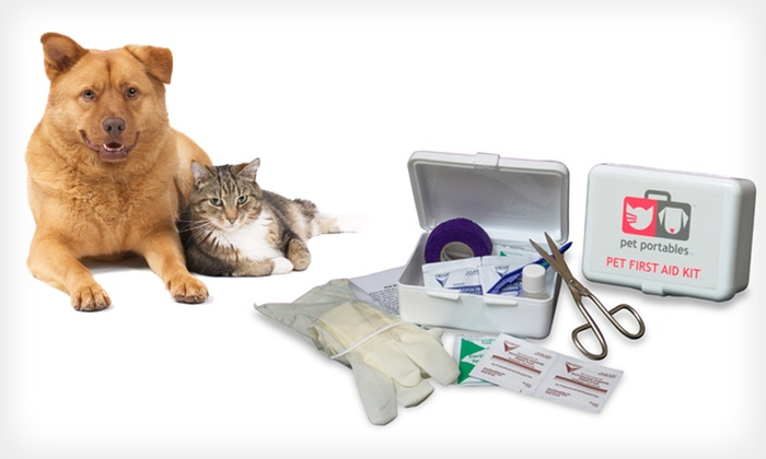 Pet First-Aid Kit: $11.99 for a Pet Portables First-Aid Kit ($24.95 List Price)