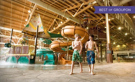 Stay with Daily Water Park Passes and Resort Credit at Great Wolf Lodge Grand Mound in Washington. Dates into March.