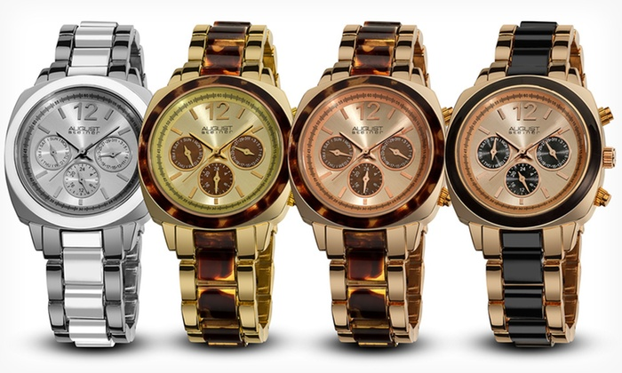 August Steiner Women's Watches: August Steiner Women's Watches (Up to 88% Off). Multiple Styles and Colors Available. Free Shipping and Returns.