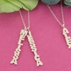 Personalized Vertical Mini Name Necklace from ShopOnlineDeals.com