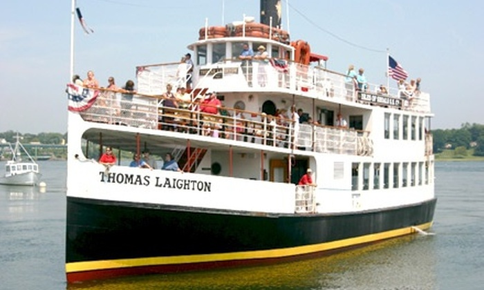 Isles of Shoals Tours - Portsmouth: $16 for a Historic Isles of Shoals and Portsmouth Harbor Boat Tour from Isles of Shoals Tours ($28 Value)