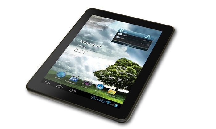 "Mach Speed Trio Stealth Pro 9.7"" Android Tablet: $99.99 for a Mach Speed Trio Stealth Pro 9.7"" Android Tablet ($179.99 List Price). Free Shipping and Returns."