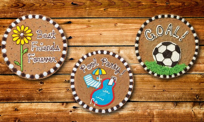 Great American Cookies - Conway: $12 for a 12-Inch Cookie Cake at Great American Cookies ($21.99 Value)