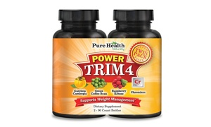 2-Pack of Power Trim 4 Dietary Supplement