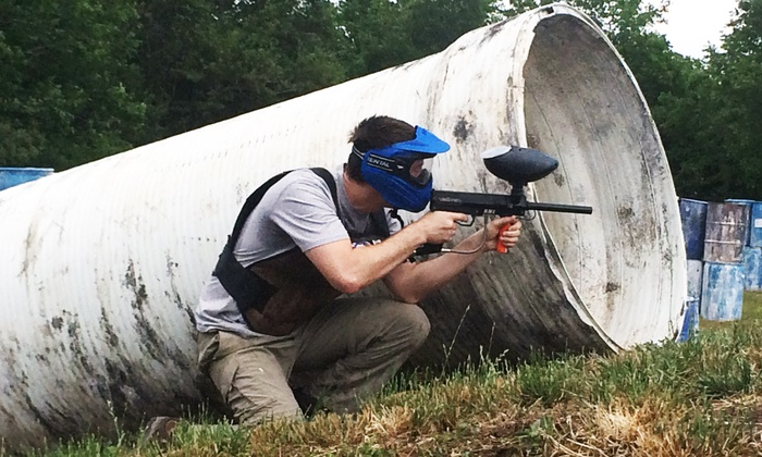 Tank's Paintball Park - Sugarland: Paintball Package for Two, Four, or Six Plus 500 Paintballs Per Person at Tank's Paintball Park Sugarland (50% Off)