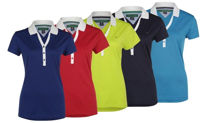 8b50b75e9b0f7 Damskie koszulki polo Tommy Hilfiger