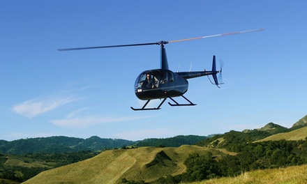 $265 for a Helicopter Ride and Wine Tasting from Sonoma Helicopter ($515 Value)