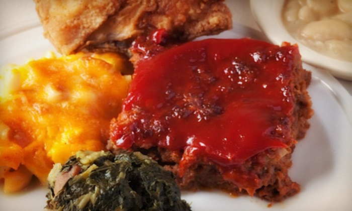 Bernies on Main Street - Columbiana: Southern Food at Bernie's on Main Street (Up to 53% Off). Three Options Available.