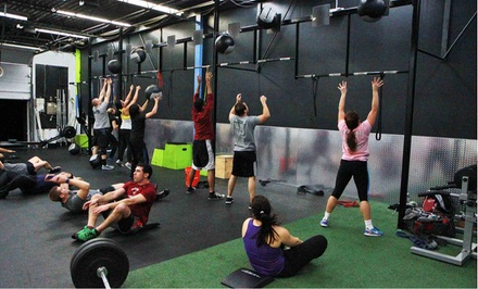 5, 10, or 15 CrossFit Classes and 4 Foundation Series Classes at Surge Training Center (Up to 74% Off)