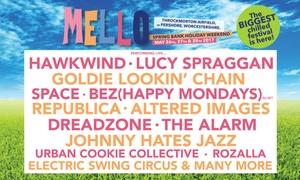 Mello Festival: Mello Music Festival 2017, Family Ticket with Camping, 26 - 29 May, Throckmorton Airfield