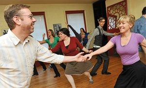 Bees' Knees Dance: One Month of Beginner Swing Classes for One or Two at Bees' Knees Dance (Up to 62% Off)