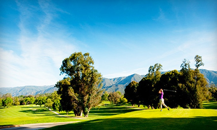 Ojai Valley Inn & Spa - Ojai: Round of Golf for One, Two, or Four with Cart Rental, Range Balls, and Beer at Ojai Valley Inn & Spa (Up to 52% Off)