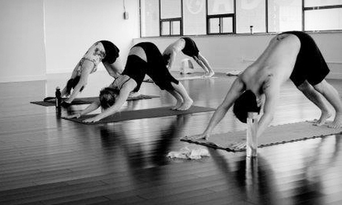 Iam Yoga - Downtown Toronto: $45 for 10 Hot Yoga Classes or One Month of Unlimited Classes at Iam Yoga ($160 Value)