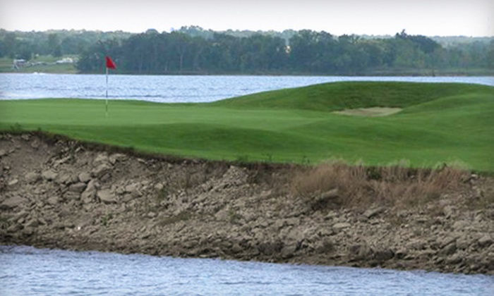 Paradise Pointe Golf Complex - Little Platte: $28 for 18-Hole Round of Golf with Cart Rental and Range Balls at Paradise Pointe Golf Complex in Smithville (Up to $56 Value)