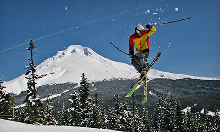 Mt. Hood Skibowl - Mount Hood: All-Day Lift Ticket with Optional Barbecue Buffet at the Snow Beach Festival at Mt. Hood Skibowl (Half Off)