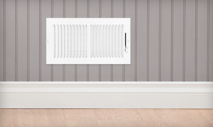 Zephyr Clean Air - Sandy: Standard or Deluxe Air-Duct Cleaning Package from Zephyr Clean Air (Up to 82% Off)