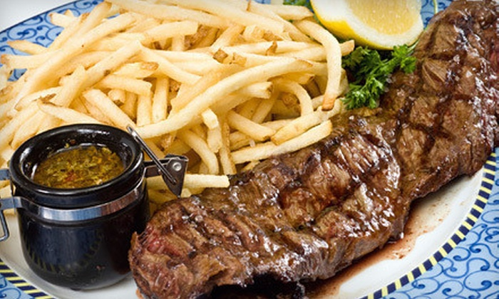 Westerkamps Steakhouse and Meat Market - Globeville: $15 for $30 Worth of Steaks, Burgers, and Breakfast at Westerkamps Steakhouse and Meat Market