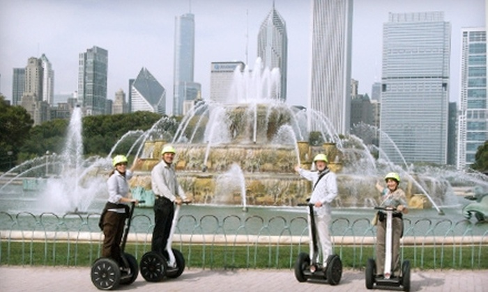 "Signature Segway Tours - The Loop: $39 for a Morning or Evening ""See It All"" Segway Tour for One from Signature Segway Adventures (Up to $79 Value)"