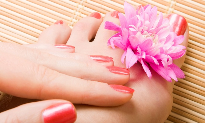 Fresh Canvas Spa - Newton: One or Two Classic Pedicures and Paraffin Hand Treatments at Fresh Canvas Spa (Up to 53% Off)