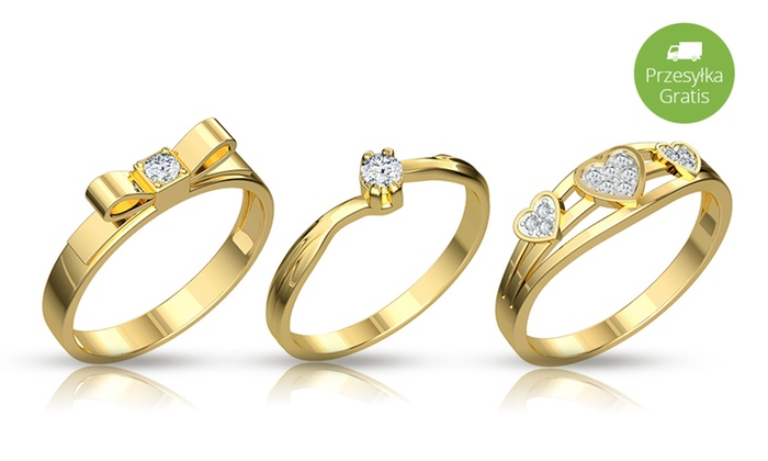 Pierścionki Zaręczynowe Z Brylantami Groupon