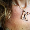 Wooden Initial Necklace from LilyDeal.com