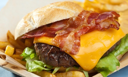 Pub Food and Drinks for Two, Four, or Six at Record Bar (Up to 60% Off)